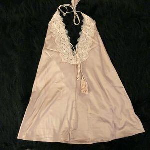 SOLARIS style silky Slip Dress Sz M NWT